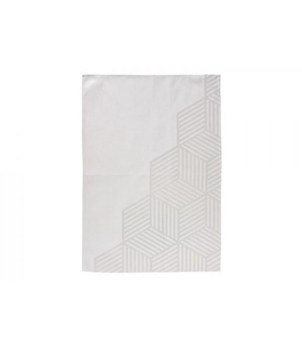 Theedoek 382031 - Hexagon - Zone Denmark - grijs -...