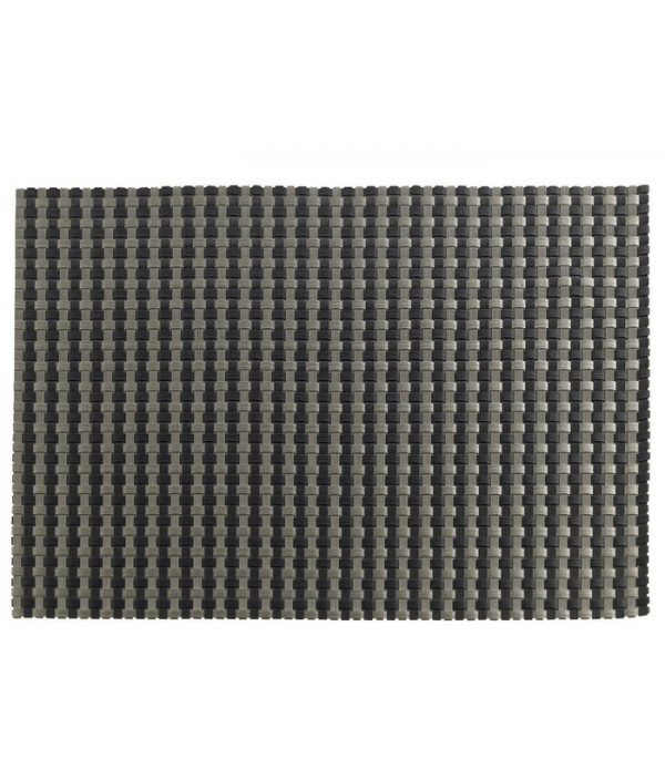 Placemat 850400 - Zone Denmark zwart/zilver