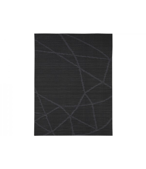 Placemat 861319 - Zone Denmark zwart lijnen patroon