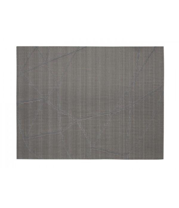 Placemat 861320 - Zone Denmark zilver lijnen patroon