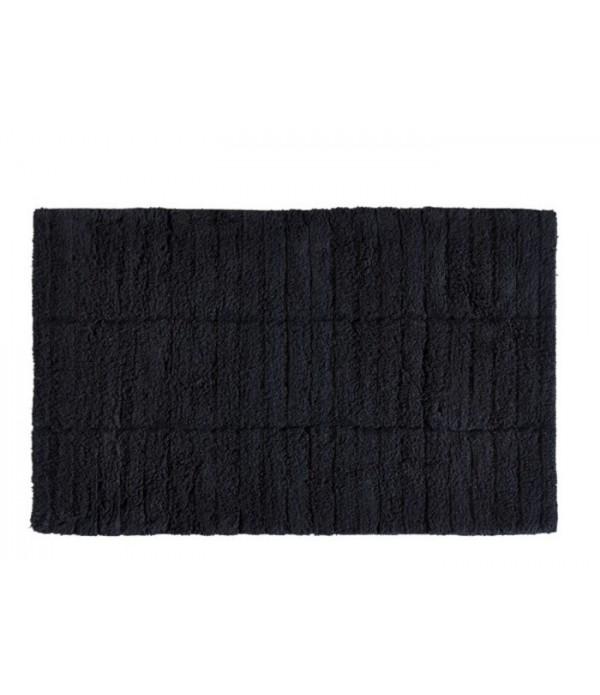 Badmat TILES - zwart - 80 x 50 cm