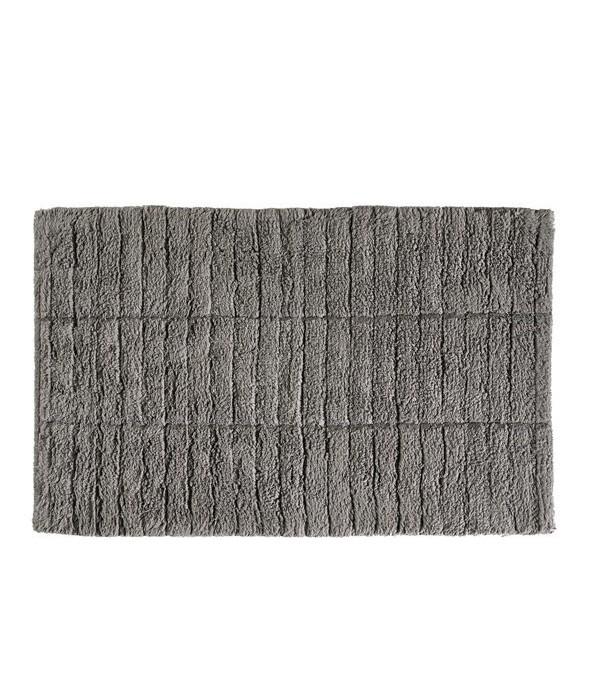 Badmat TILES - slate grijs - 80 x 50 cm