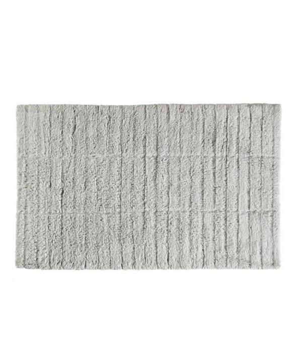 Badmat TILES - soft grijs - 80 x 50 cm