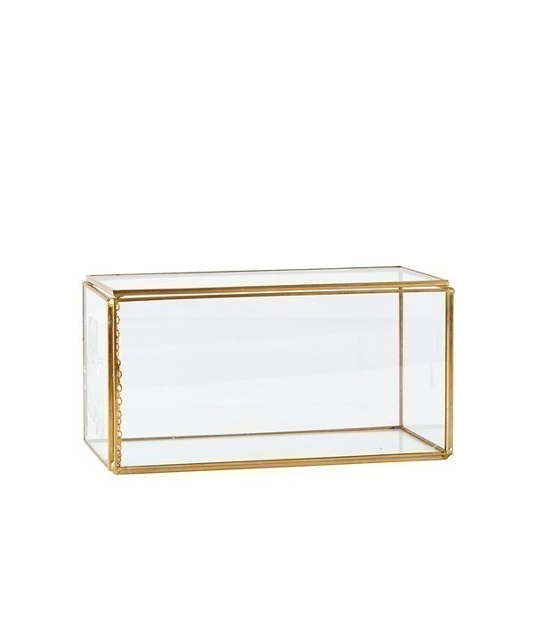 Box 162540 - Glass - Metal - Brass -