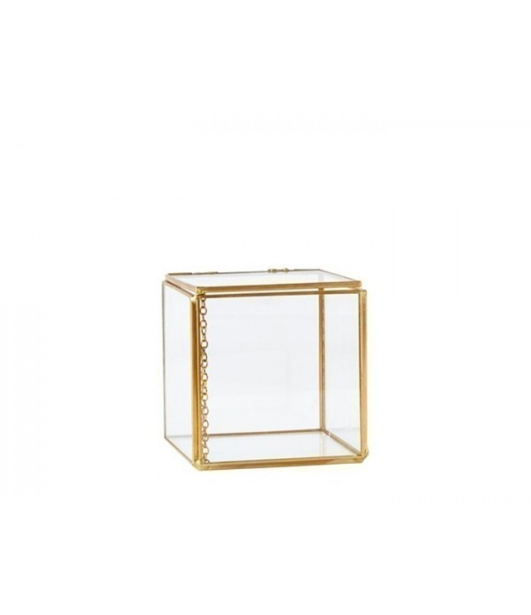 Box 162542 - Glass - Metal - Brass -