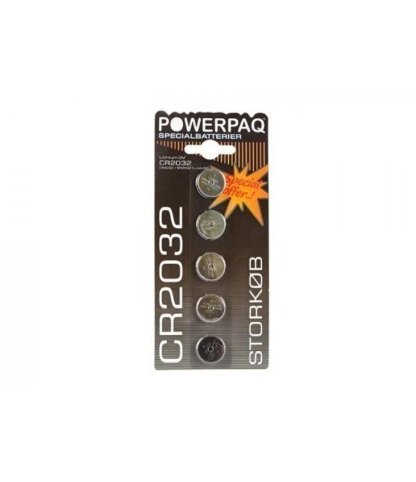 Batterij CR2032 -16560 - set van 5 stuks