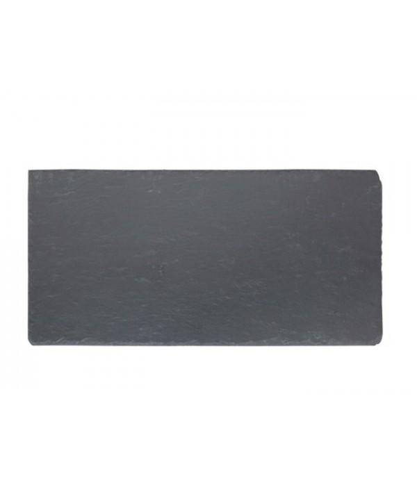 Bord 242021 - leisteen - zwart - 50 x 25 cm