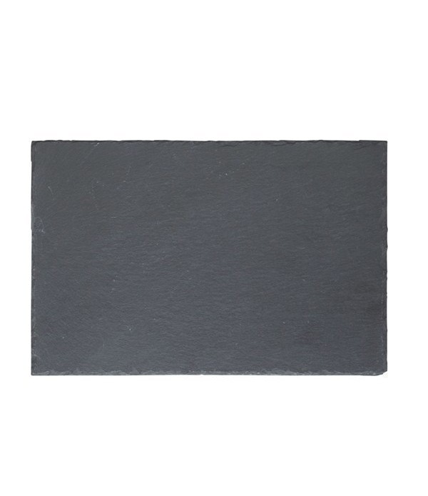 Bord 242022 - leisteen - zwart - 30 x 20 cm