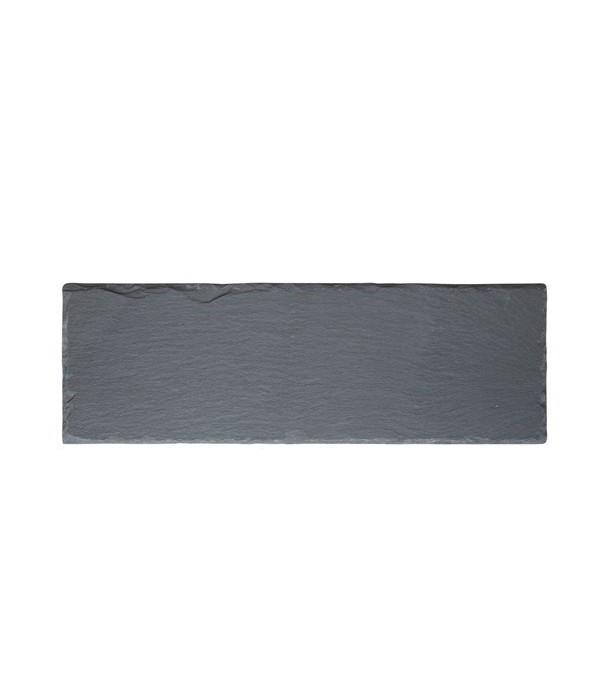 Bord 242023 - leisteen - zwart - 30 x 10 cm