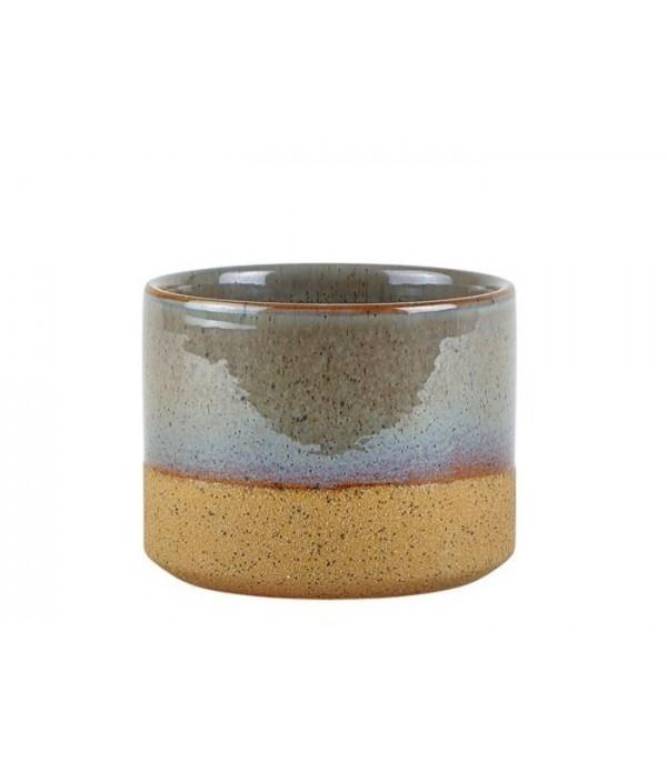 Bloempot 472221 - grijsblauw - 10 cm
