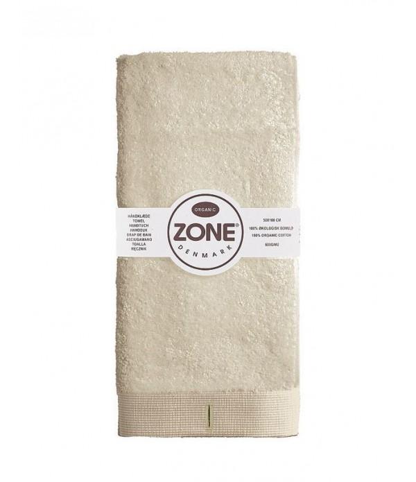 Handdoek ORGANIC zand 100 x 50 cm