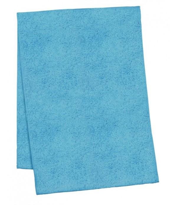 Theedoek Confetti microfiber turquoise