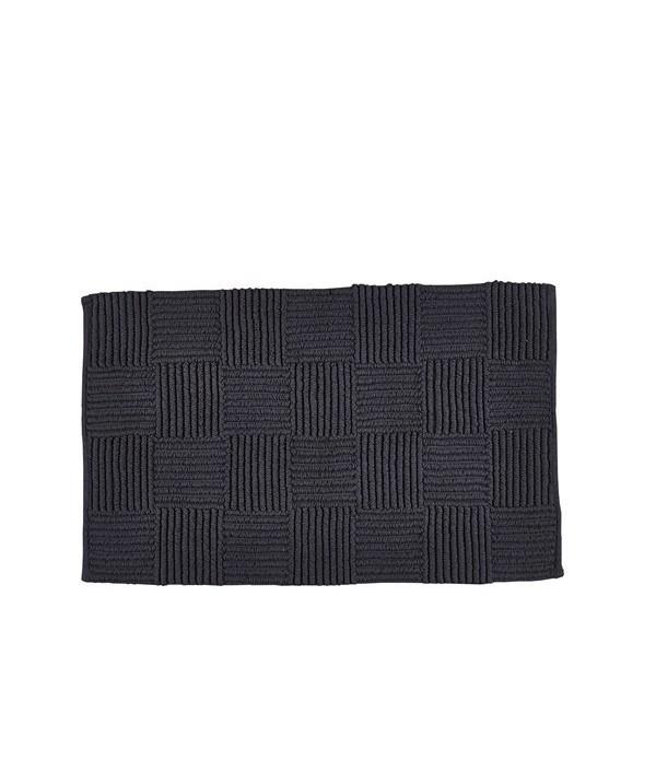 Badmat 482182 - 100% katoen - 1950 g - Charcoal gr...