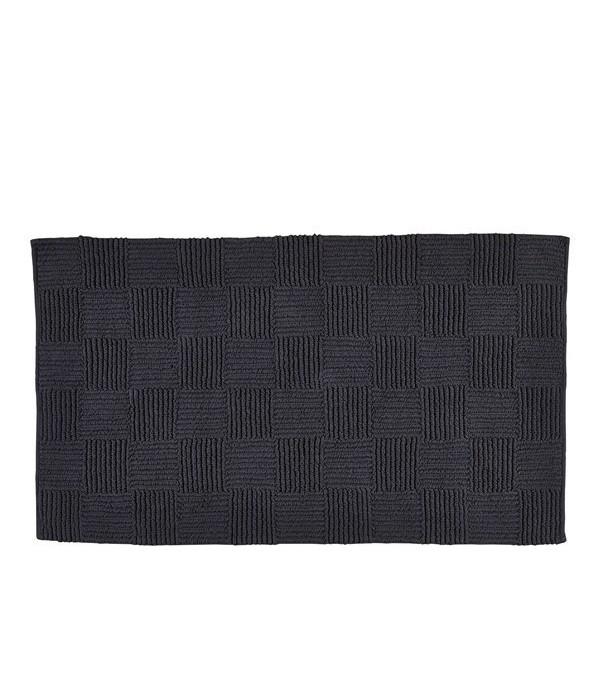 Badmat 482183 - 100% katoen - 1950 g - Charcoal gr...
