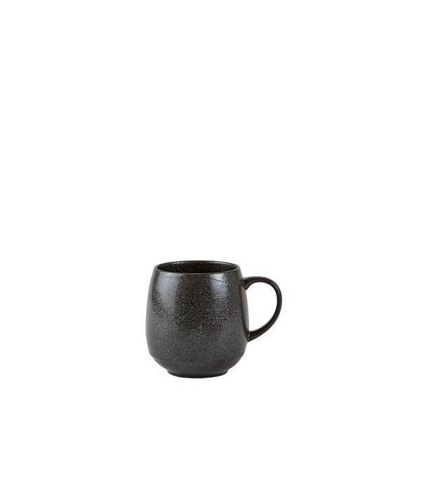 Beker 482404 - aardewerk- Charcoal grijs - D 8,0cm...