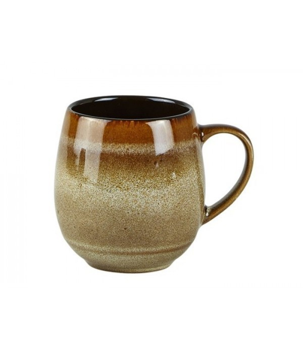 Beker 482424 - aardewerk- sand - bruin - D 8,0cm