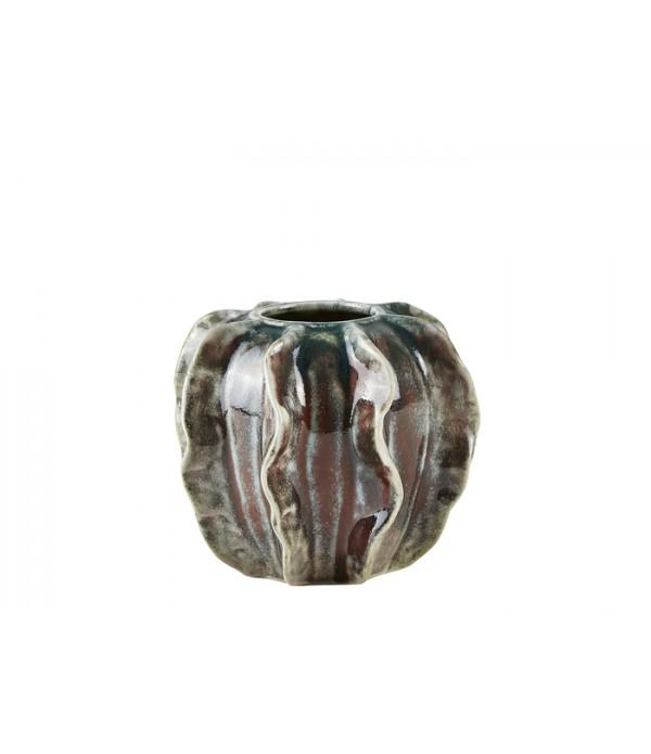 Vaas 491092 - aardewerk - Multicolor