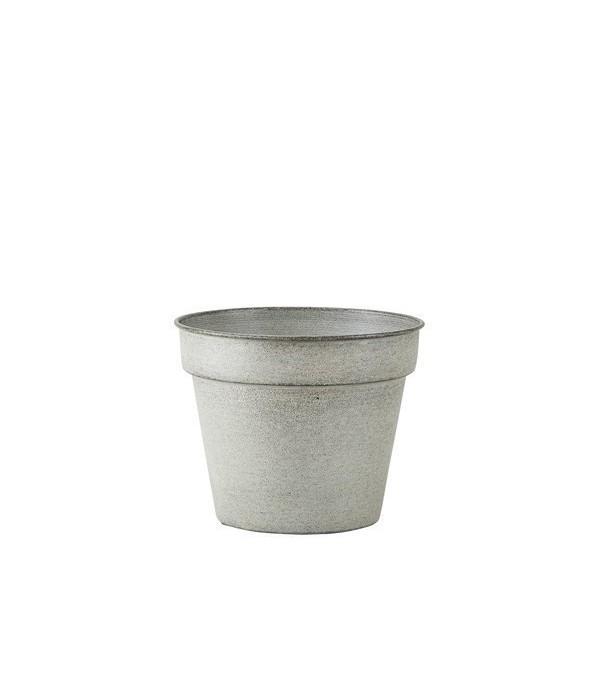 Bloempot 491310 - geglazuurd metaal