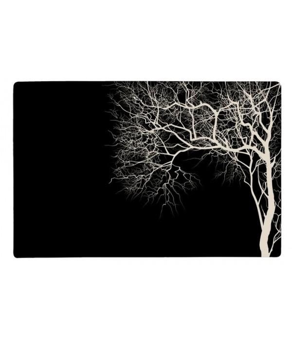 Placemat 252232 Galzone Denmark - boom -zwart/zand