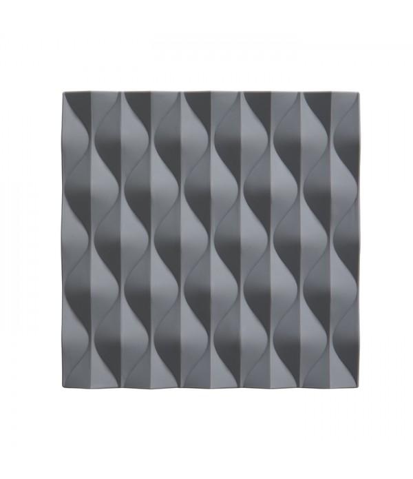 Onderzetter - cool grijs  Origami - Wave 16 x 16 c...