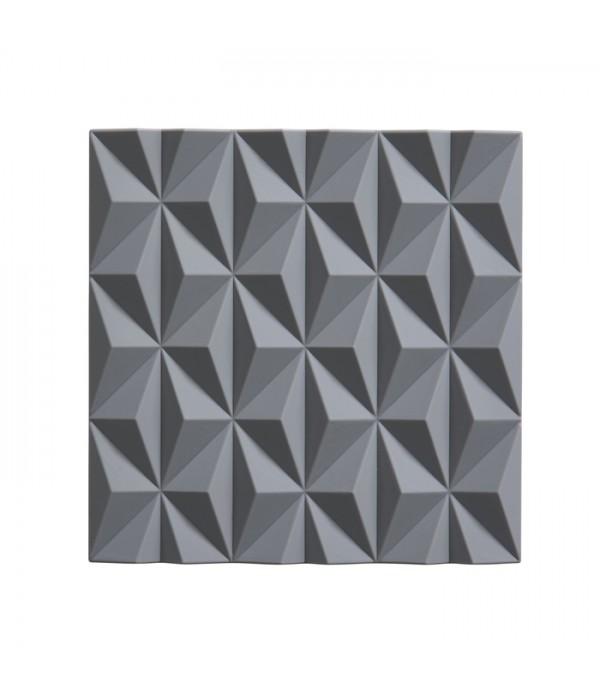 Onderzetter - cool grijs  Origami - Beak 16 x 16 c...