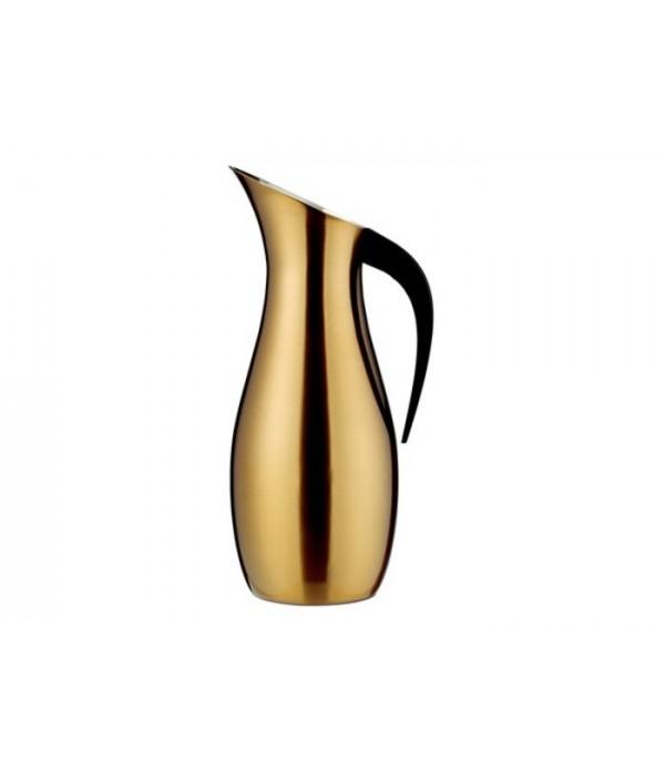Isoleerkan 1,7 liter Nuance Denmark 18/8 Brass