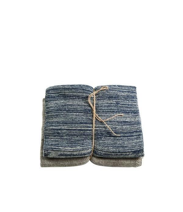 Handdoek 40x60 Essential indigo/n