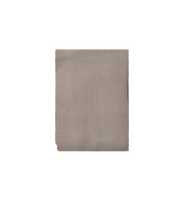 Bedsprei - Point Bedspread - 240x260cm - Grijs