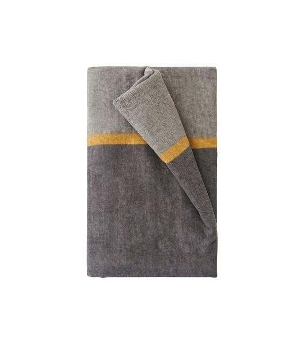 Handdoek 100x150 Match grijs