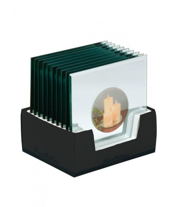 Kaarsenplateau - spiegel - rechthoekig - L 20,0cm ...