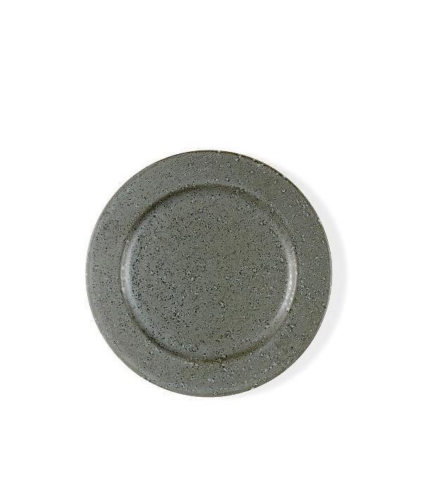 Dessertbord 22cm grijs