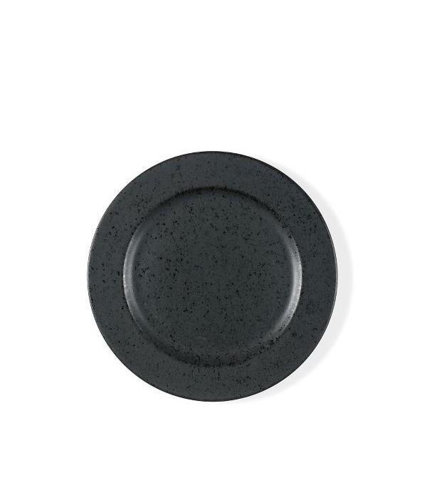 Dessertbord 22 cm zwart