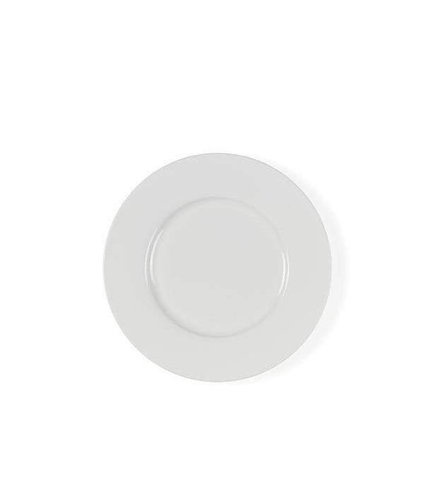 Dessertbord 22 cm Wit