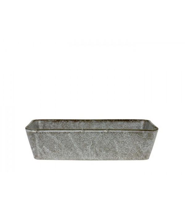 Bitz Schaal grijs 32 x 19 cm
