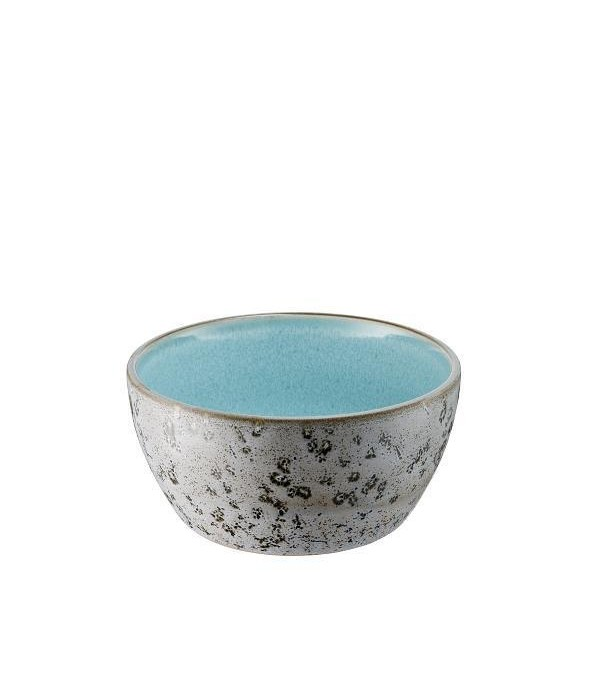 Bowl 6cm dia12cm grey/lightblu
