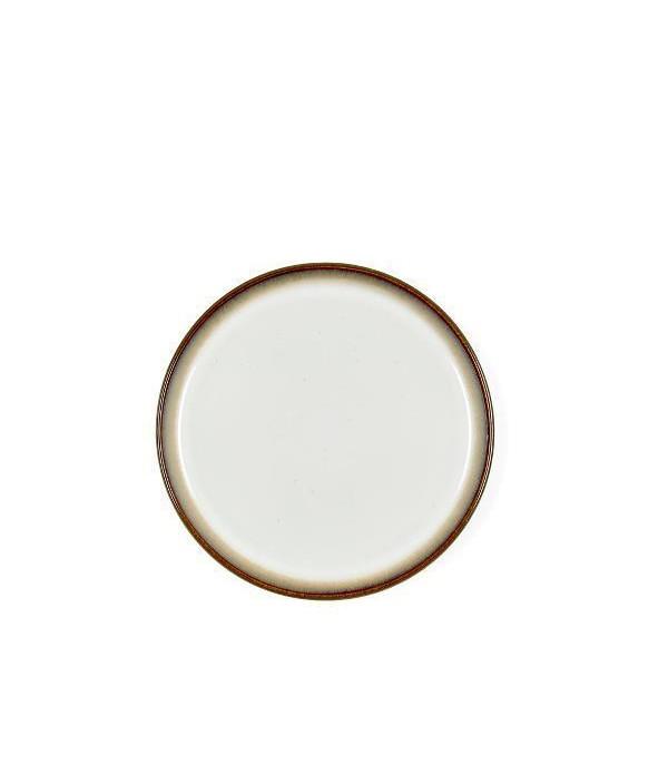 Ontbijtbord 21cm - Grijs/Creme