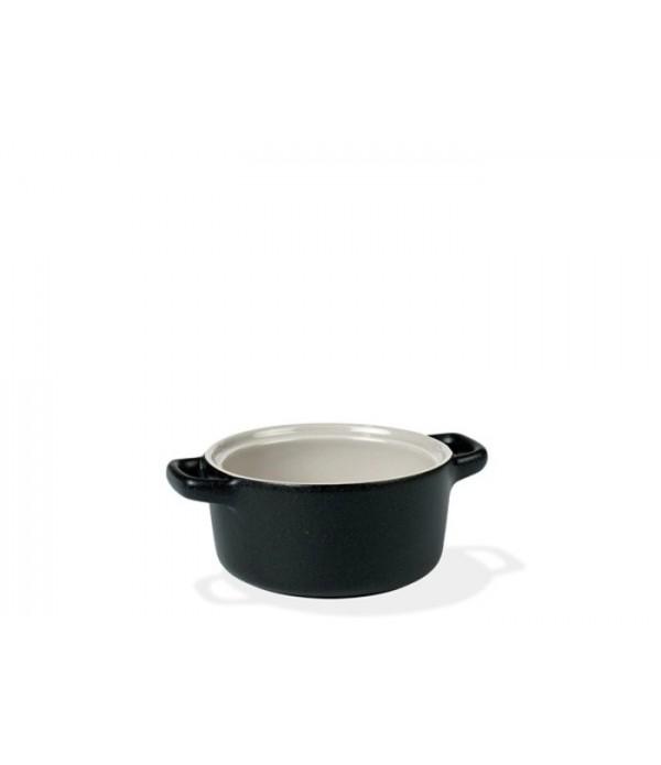 Casserole/Lid 12 cm stoneware