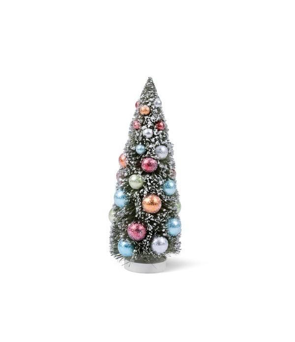 Figuur - Kerstboom - Polyresin - H30 cm