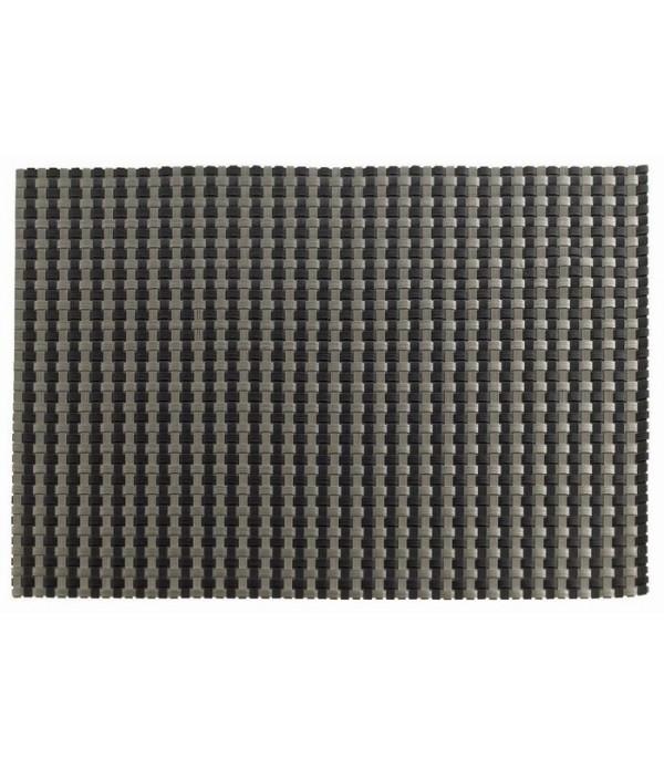 Placemat - zwart/zilver 30 x 40cm