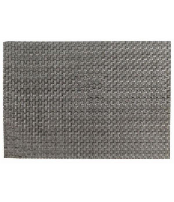 Placemat - zilver/zwart