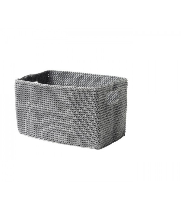 Mand Confetti Square - grijs