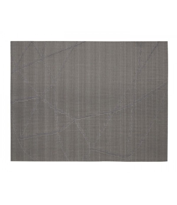 Placemat - zilver lijnen patroon