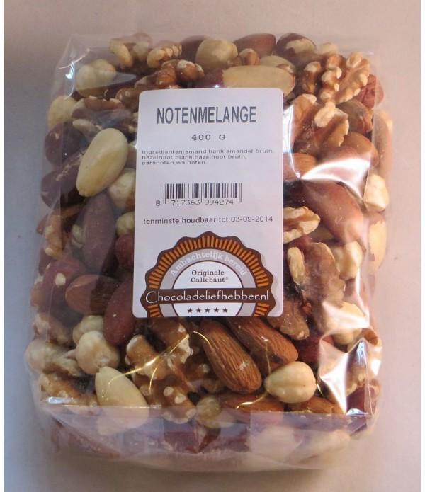 Notenmelange Chocoladeliefhebber 400 gram