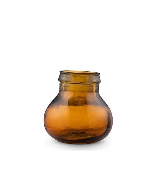 Kusintha Vaas 17,5 amber BITZ