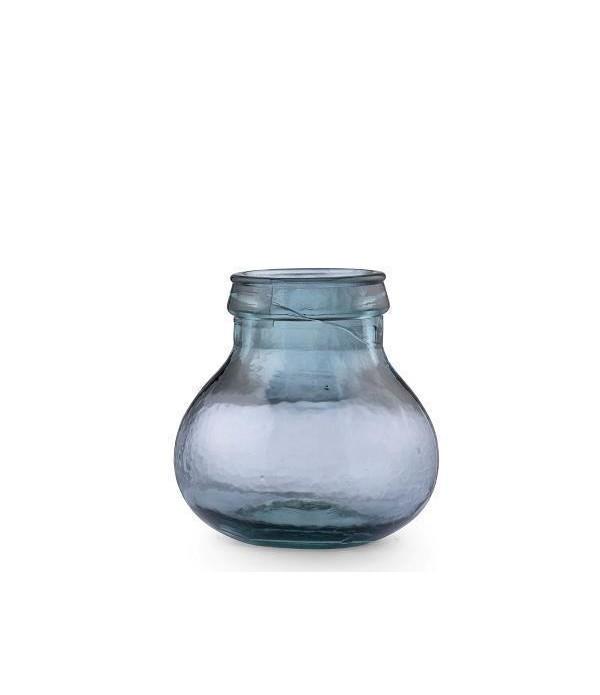 Kusintha Vaas 17,5 blauw BITZ