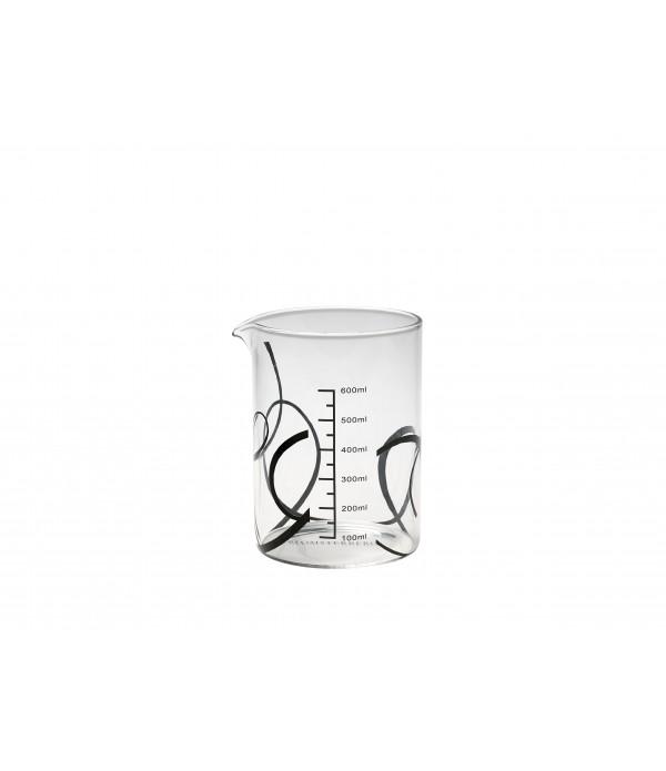 Maatbeker Blomsterberg - 600 ml.