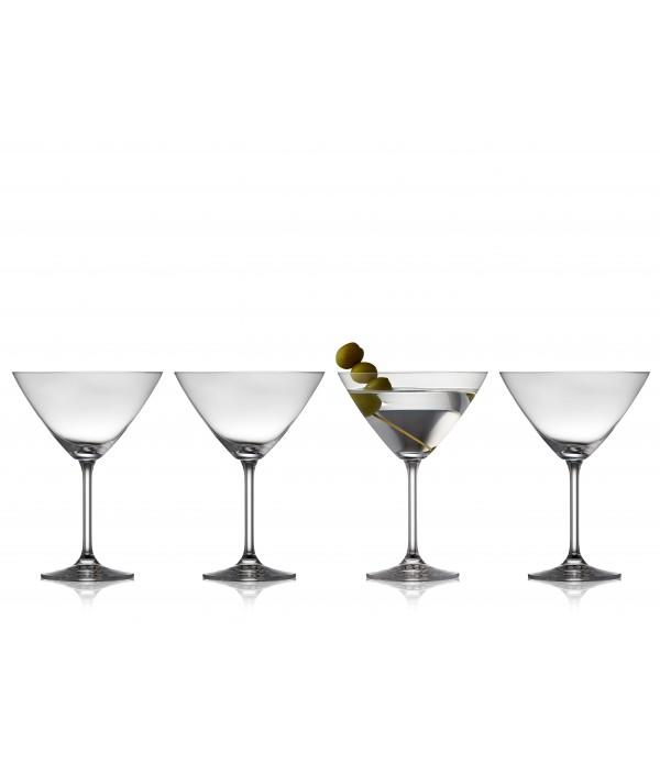 Martiniglas, 4 Stuks - Glas - 28 cl