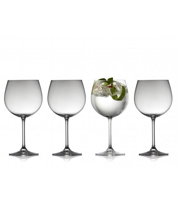 Gin & Tonic glas, 4 Stuks - Glas - 57 cl