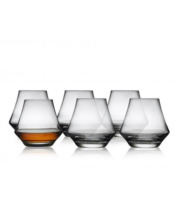 Rumglas, 6 Stuks - Glas - 29 cl