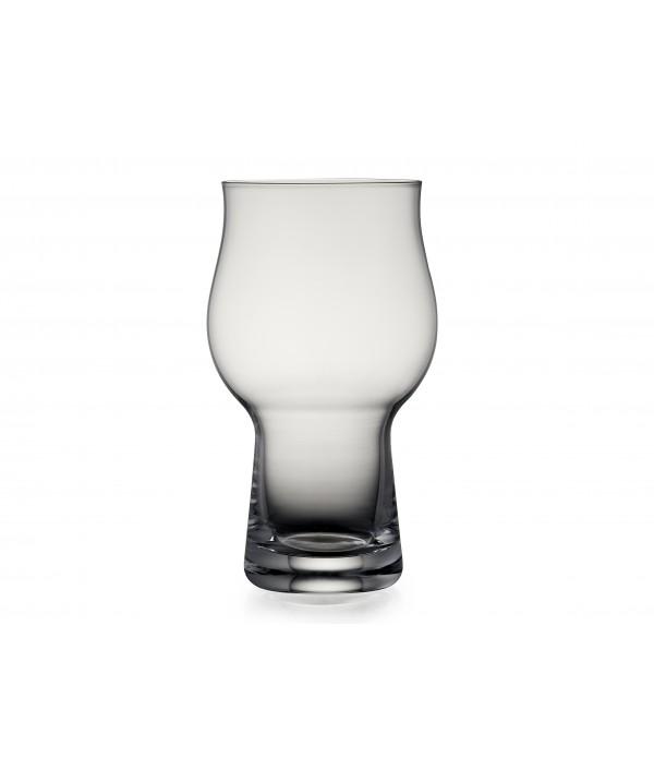 Bierglazen, 4 stuks - Glas - Helder